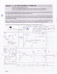 Regular Physics exam problem. This student solved for the values of the forces in a more graphical manner.