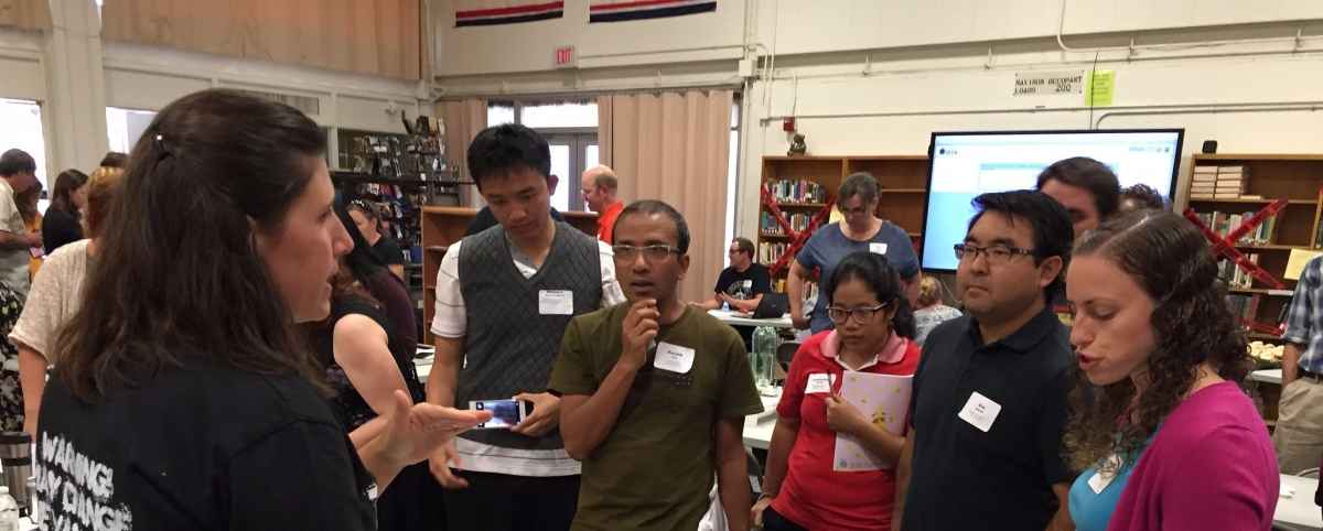 kellyoshea.blog - Kelly O'Shea - High School Physics Teacher Camp 2017