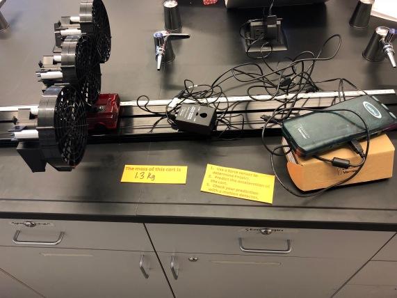 N2L Station 2 - real setup